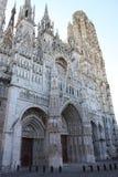 大教堂法国鲁昂 库存图片