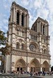 大教堂法国贵妇人notre巴黎 库存图片