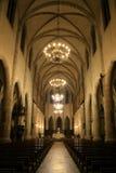 大教堂法国mende 免版税库存图片