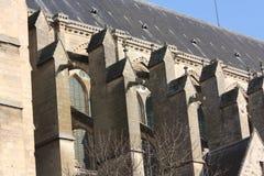 大教堂法国soisson 免版税库存照片