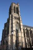 大教堂法国soisson 免版税图库摄影