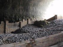 大教堂洞穴 库存照片