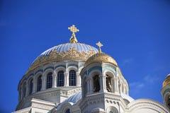 大教堂海军尼古拉斯st 库存照片