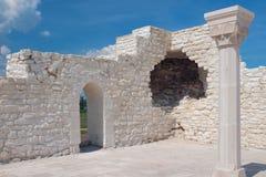 大教堂清真寺废墟  Bulgar,俄罗斯 免版税库存照片