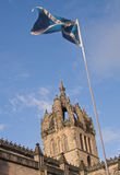 大教堂爱丁堡giles st 库存图片