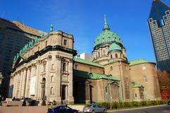 大教堂玛丽・蒙特利尔女王/王后世界 库存照片