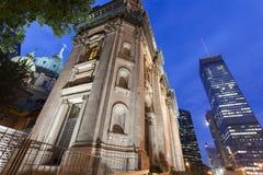 大教堂玛丽・蒙特利尔女王/王后世界 免版税图库摄影