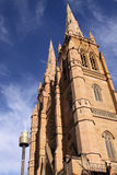 大教堂玛丽s st悉尼 库存照片