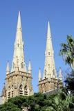 大教堂玛丽s st悉尼 免版税库存照片