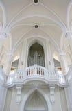 大教堂白色 免版税库存图片