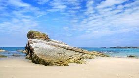 大教堂的海滩 西班牙 库存图片