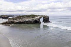 大教堂的海滩 免版税库存图片