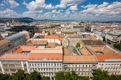 从大教堂的看法在布达佩斯 免版税库存图片