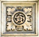 大教堂的装饰要素,意大利, 16世纪 库存照片