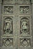 大教堂的门 免版税库存照片