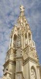大教堂石峰,米兰,意大利 免版税图库摄影