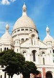 大教堂神圣basilique coeur du heart巴黎的sacr 免版税库存图片