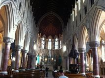 大教堂科芙市爱尔兰 免版税库存图片