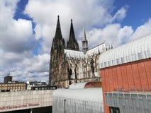 大教堂科隆香水著名德国遗产国际地标站点科教文组织世界 免版税库存图片