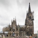 大教堂科隆香水著名德国遗产国际地标站点科教文组织世界 世界遗产名录-天主教哥特式教会 库存照片