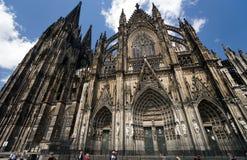 大教堂科隆香水著名德国遗产国际地标站点科教文组织世界 免版税库存照片