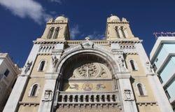 大教堂突尼斯 库存照片