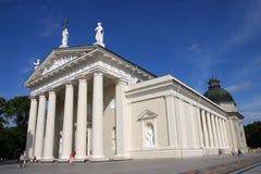 大教堂维尔纽斯 免版税图库摄影