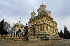 大教堂罗马尼亚 免版税库存照片