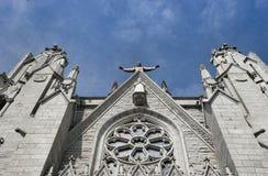大教堂耶稣圣心 库存图片