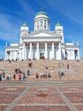 大教堂芬兰赫尔辛基 免版税图库摄影