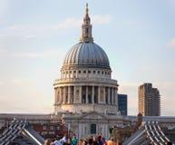 大教堂英国伦敦pauls st 免版税图库摄影