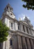 大教堂英国伦敦pauls st 图库摄影
