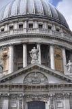 大教堂英国伦敦pauls st 库存照片