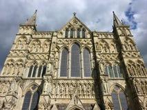大教堂英国萨利 图库摄影