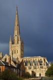 大教堂英国诺威治 免版税库存图片