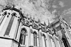 大教堂英语 库存照片