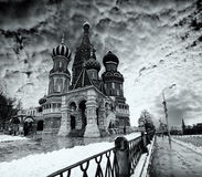 大教堂莫斯科 免版税库存图片
