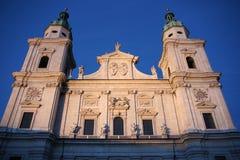 大教堂萨尔茨堡 免版税库存照片