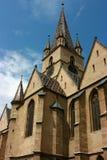 大教堂被改革的锡比乌 免版税库存图片