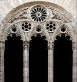大教堂装饰视窗 库存图片
