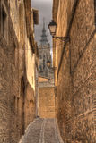 大教堂西班牙托莱多 库存照片