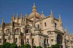大教堂西班牙语 库存图片