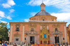 大教堂西班牙巴伦西亚 免版税库存图片