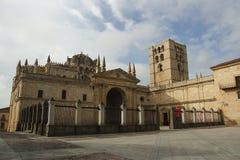 大教堂西班牙zamora 免版税图库摄影