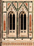 大教堂详细资料佛罗伦萨意大利 图库摄影