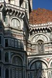 大教堂详细资料佛罗伦萨 图库摄影
