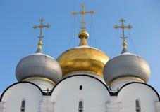大教堂详细资料夫人我们的斯摩棱斯克 免版税库存照片