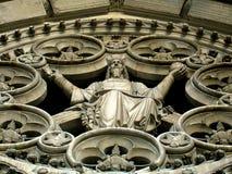 大教堂详细资料神的入口约翰st 库存照片