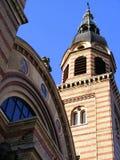 大教堂详细锡比乌 库存照片