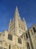 大教堂诺威治尖顶 免版税库存图片